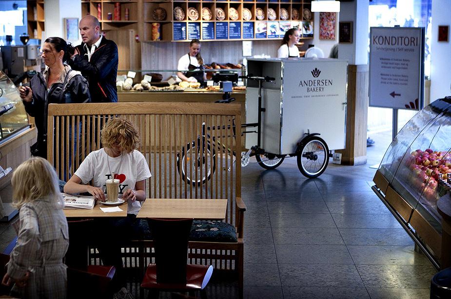 København. Cafe kontrol. Andersen Bakery. Nimb i Tivoli.