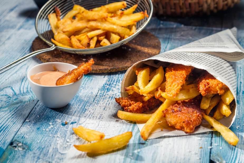 O verdadeiro Fish and Chips