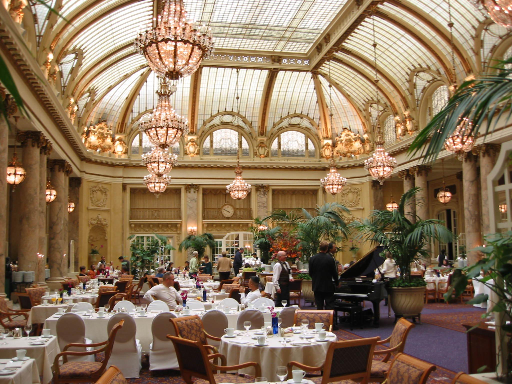 Garden Court, Palace Hotel