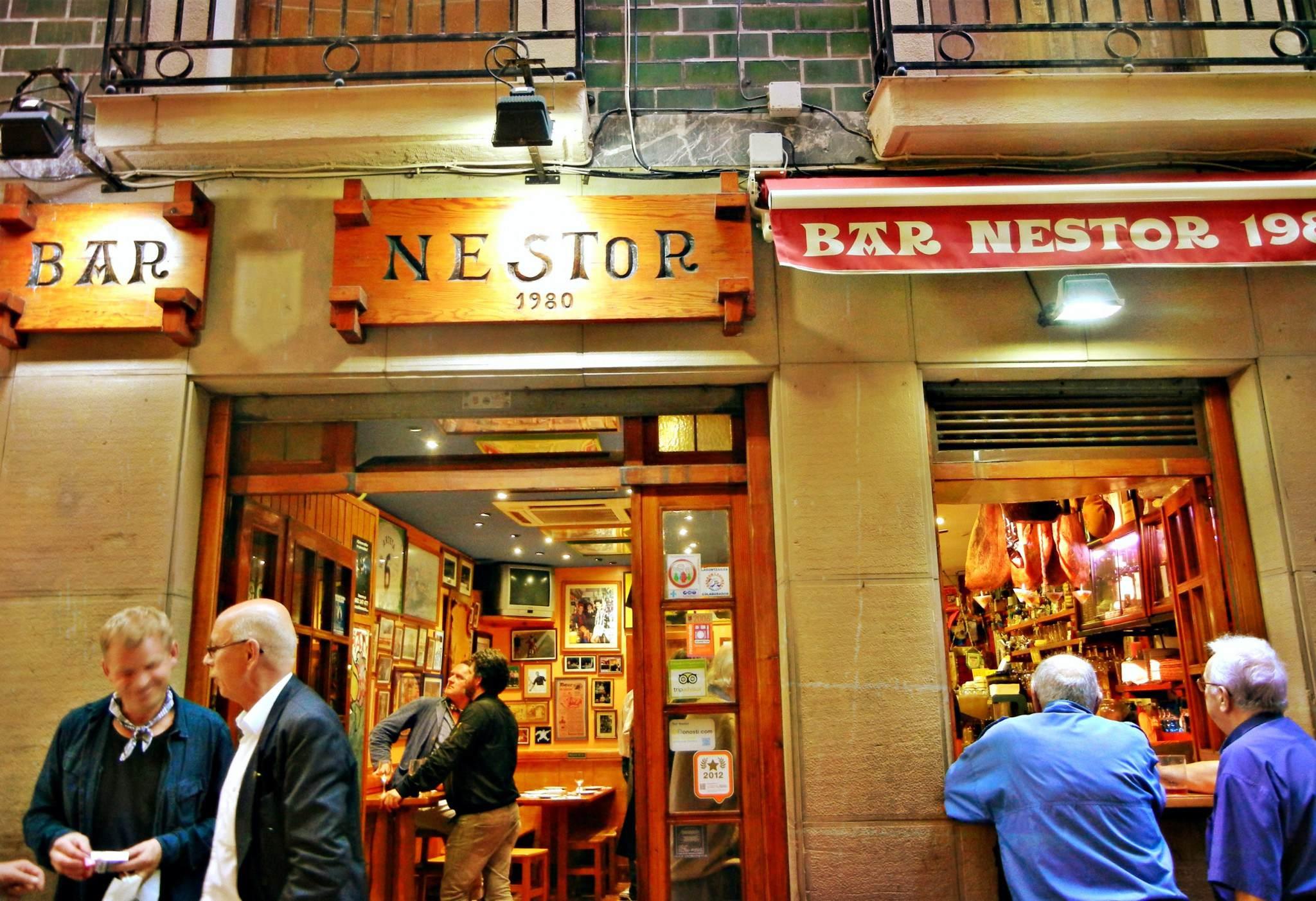 bar nestor entrada