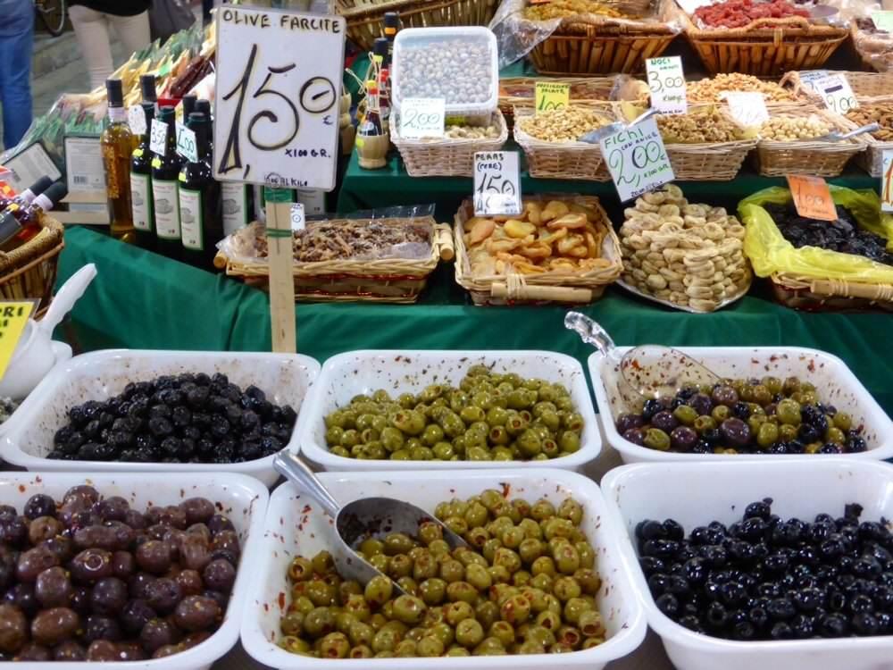 il mercato azeitona
