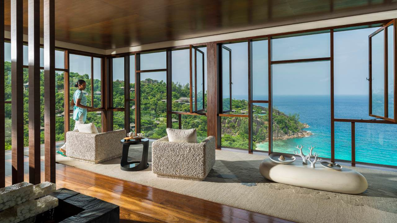 Four Seasons Resort Seychelles spa