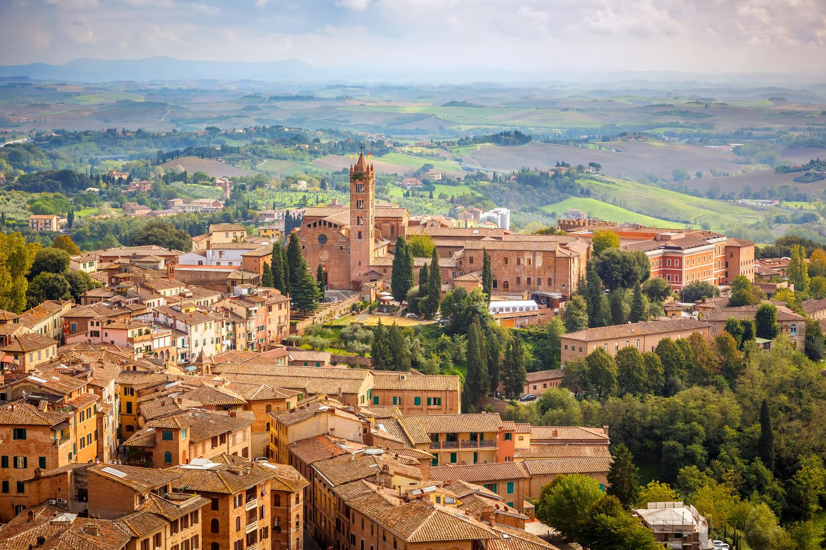 As maravilhosas cidades entre Roma e Florença