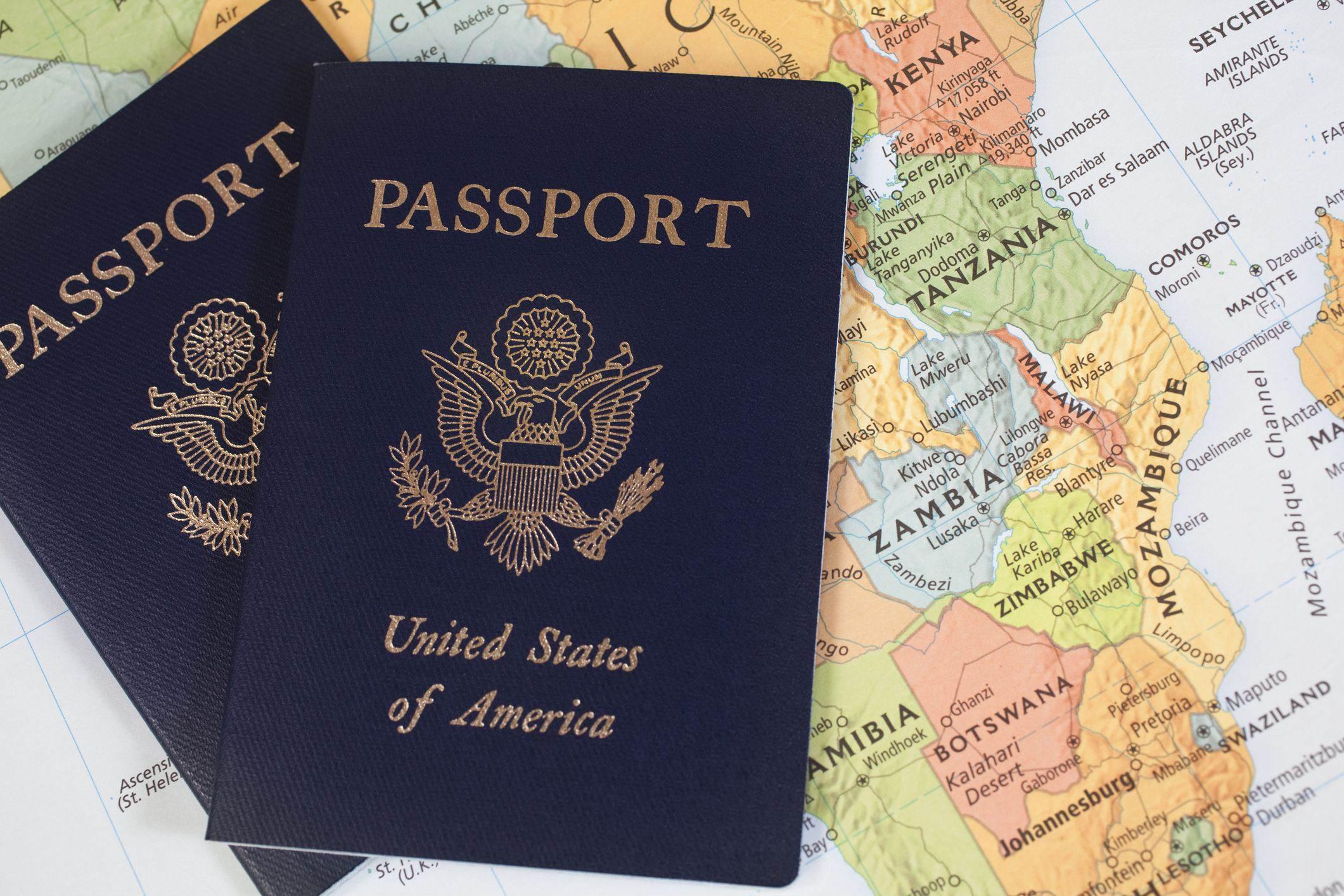 O que significa a cor do passaporte?