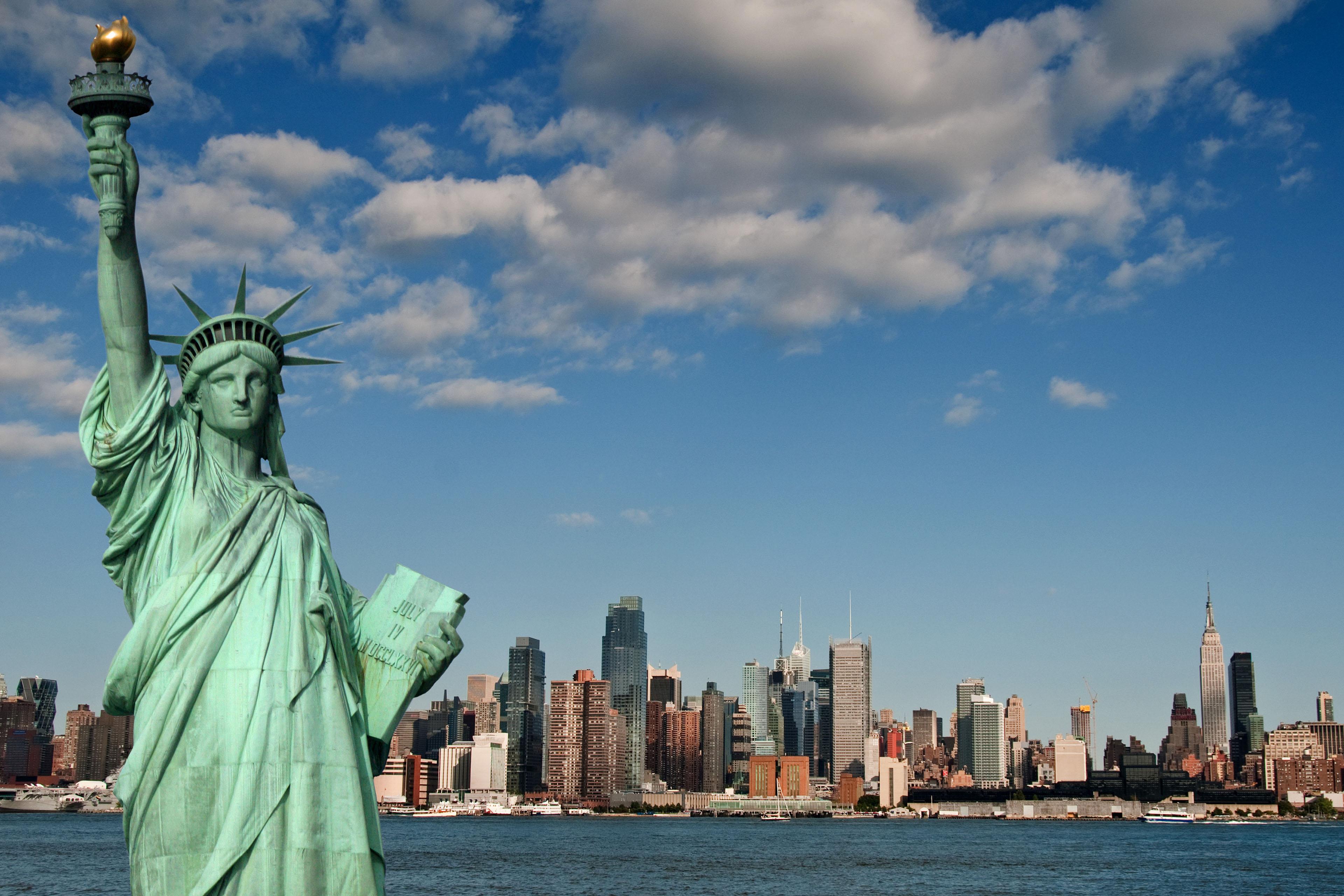 Onde fica a Estátua da Liberdade?