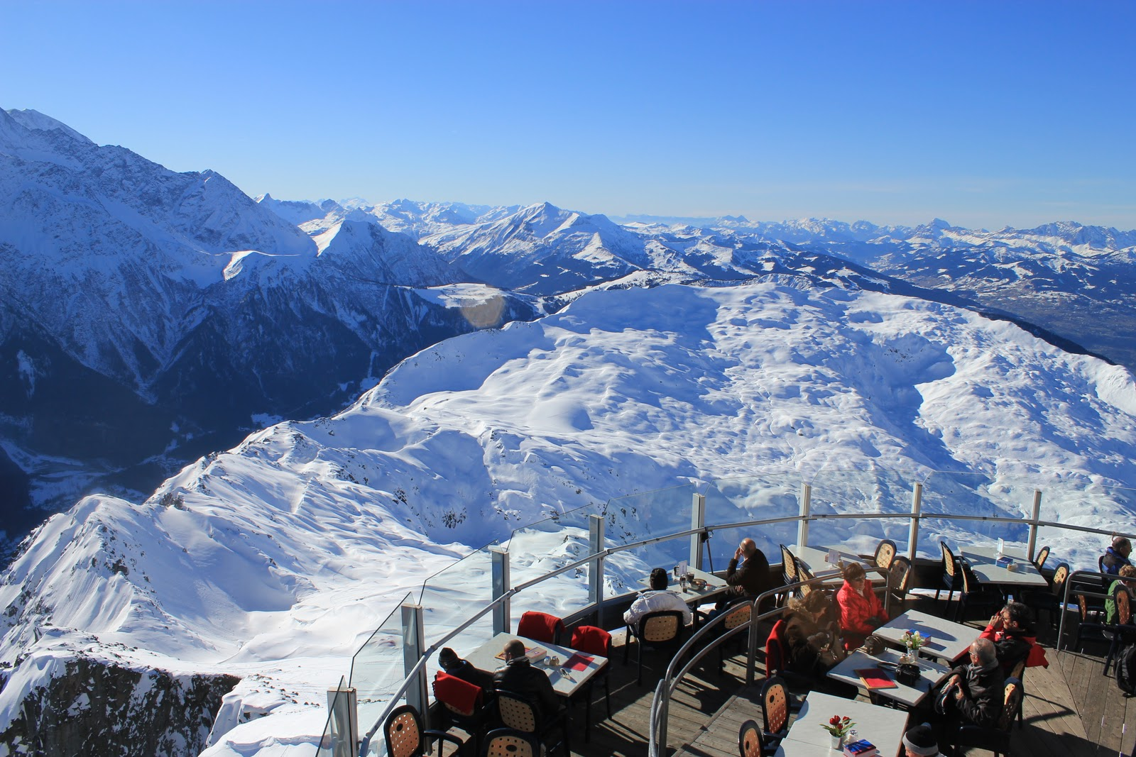 Restaurante Le Panoramic em Chamonix