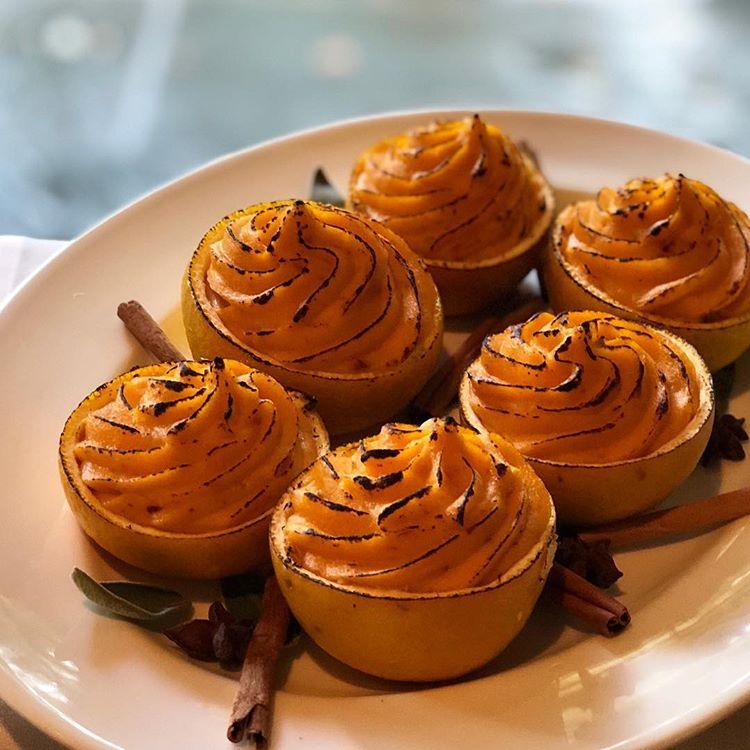 Satsuma Roasted Sweet Potatoes